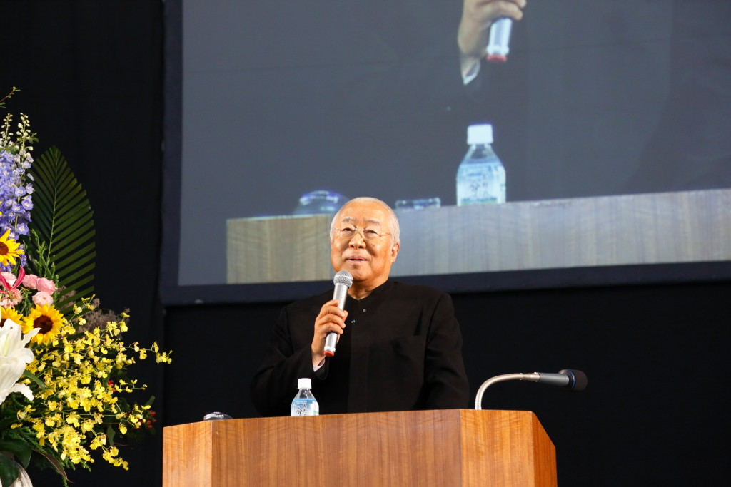 前回大会(長野県)の様子① 校長の講演
