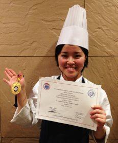 """第32回フランス料理最優秀見習い料理人選抜コンクール""""にて、当校助手 奥万由子さんが総合1位を受賞しました!のイメージ画像"""