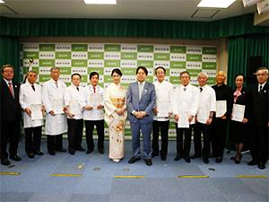 校長・服部幸應が「日本食普及の親善大使」に任命されました。のイメージ画像