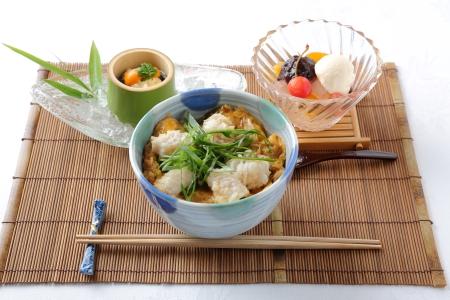 プロから学ぶ日本料理!鱧(はも)の玉子とじ丼